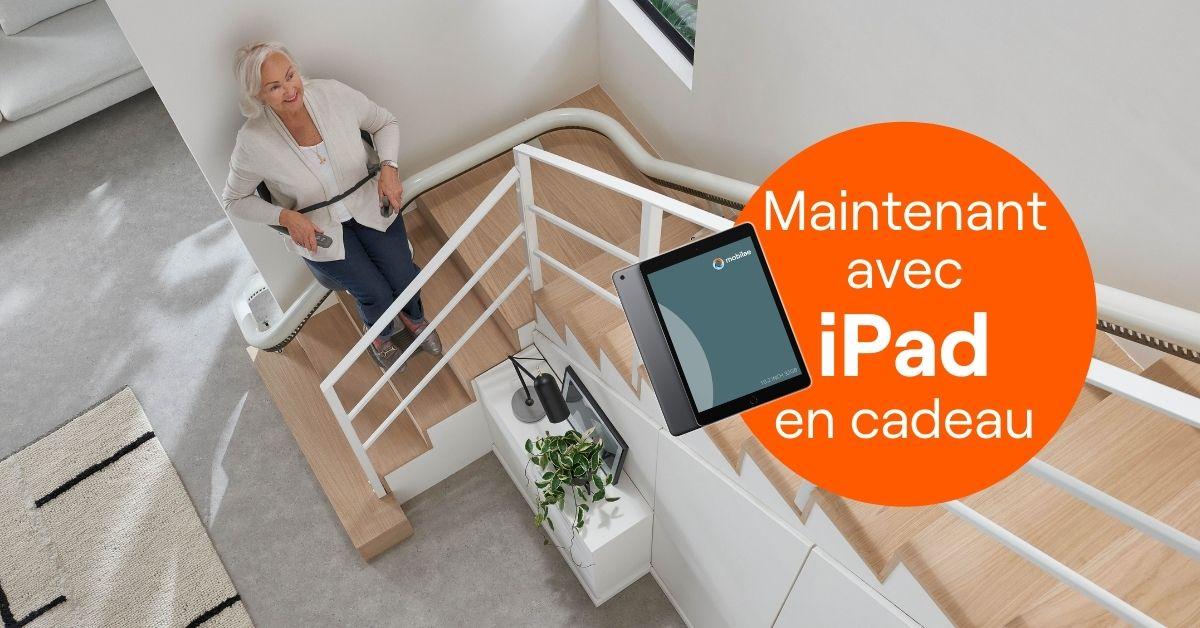 Ipad En Cadeau Monte Escalier
